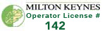 Licensed by Milton Keynes council